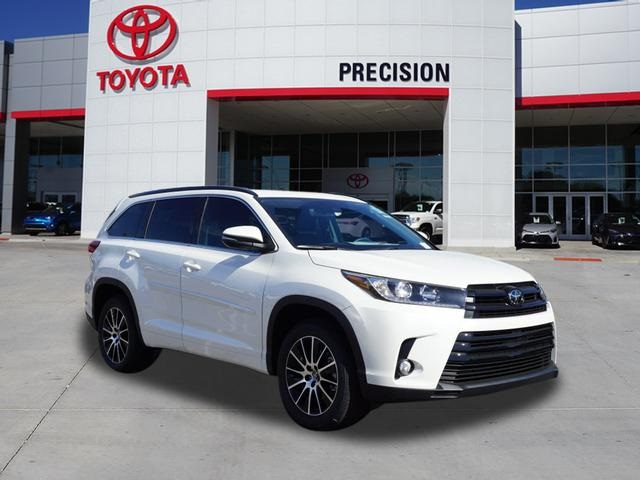 new 2018 toyota highlander se 4d sport utility in tucson 30394 precision toyota of tucson. Black Bedroom Furniture Sets. Home Design Ideas