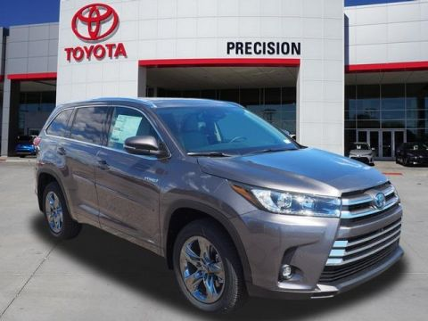 New 2019 Toyota Highlander Hybrid Limited Platinum
